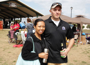 Lasting Impressions: Karen Podhorn: Sgt. Paul Podhorn and his wife, Karen, attend an Oktoberfest event Saturday, Oct. 26, 2013, at Carl Levin Park in Harker Heights. - Jaime Villanueva | Herald