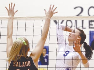 Cove sweeps Salado, Kerrville Tivy