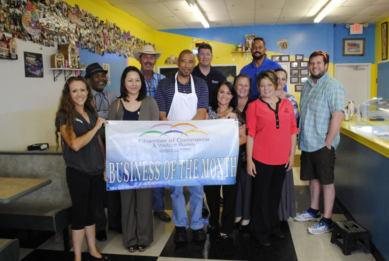 Waffle Cone is chamber Ambassadors' July Business of Month