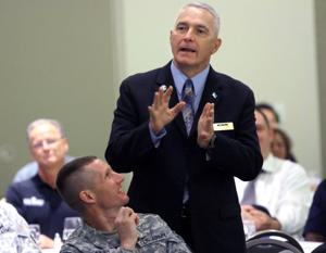 Cone speaks at AUSA luncheon