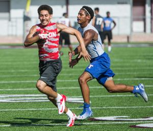 Mansell, Peoples lead Belton to two victories in 7-on-7