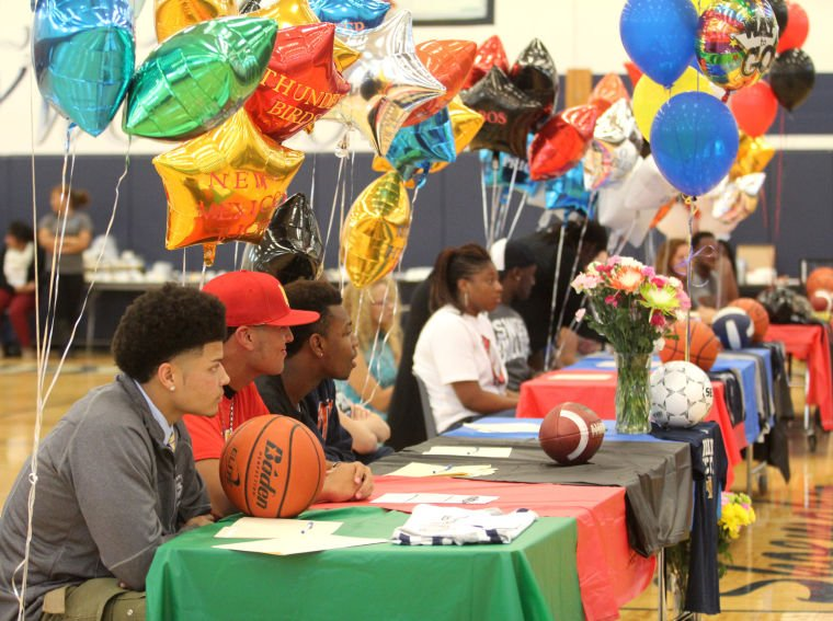 Shoemaker High School Athlete Signings