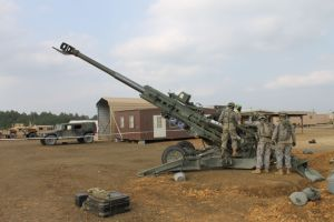 Howitzer training