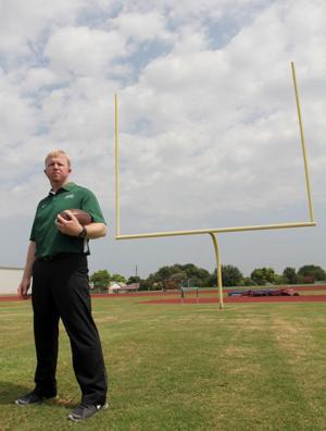 Ellison Football Coach Derek Levisay
