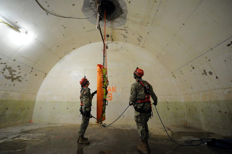 CBRNE soldiers use underground tunnels to highlight capabilities