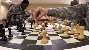 Warrior Transition Brigade Chess Games