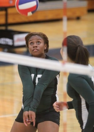 Ellison vs. Shoemaker Volleyball