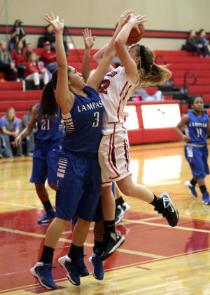 Salado vs. Lampasas girls