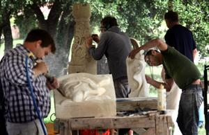 Harvest Celebration Stone Carving Competition