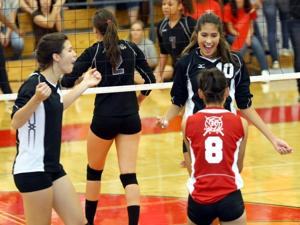 Lady Knights sweep Lady Buffs