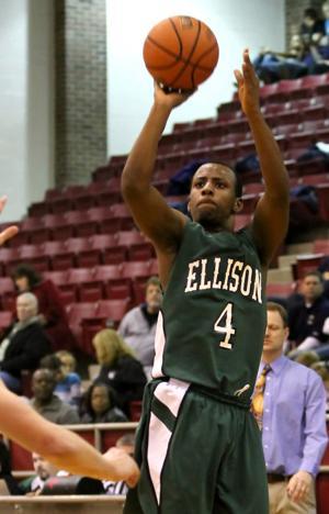 Ellison downs Flower Mound 61-52