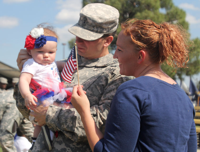 1st Air Cavalry Brigade homecoming