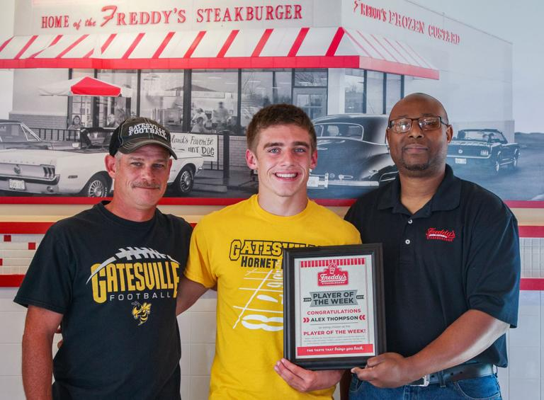PLAYER OF THE WEEK: Gatesville RB Thompson runs away with fan vote