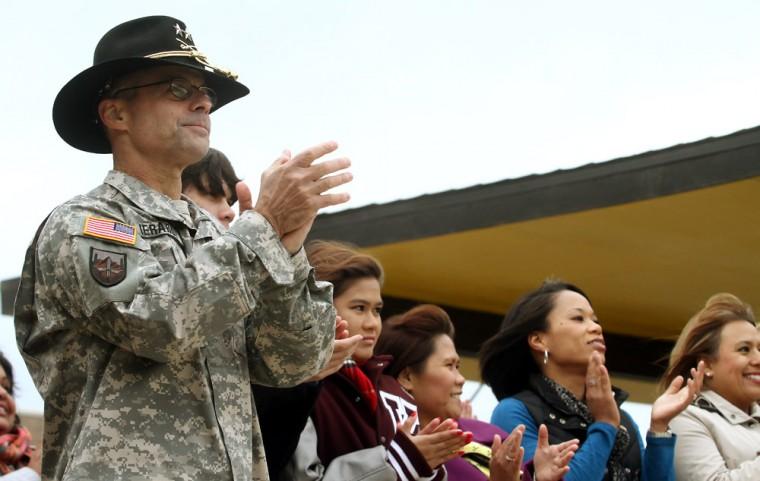 4th Brigade Combat Team Color Casing Ceremony
