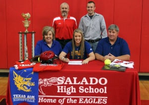 Salado's Hicks inks with Texas A&M-Kingsville