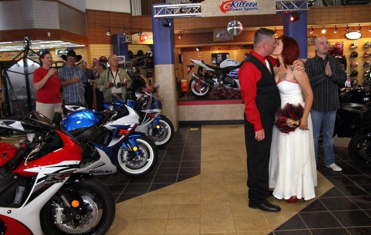 Motorcycle Wedding