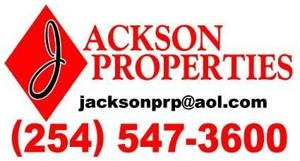 Real Estate Broker Copperas Cove, TX 254-547-3600 Jackson Properties