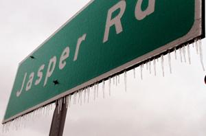 Cold weather hits Central Texas