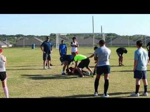 T A&M Central Texas Rugby Practice