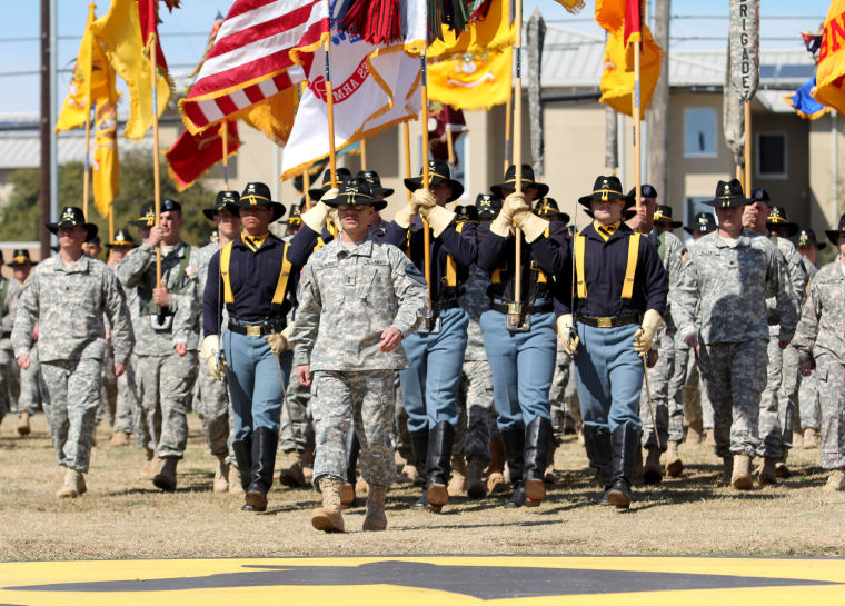 1st Cavalry Division Change of Command