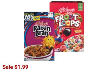 Kellogg's Cereals at CVS! Save up to 75%!! WOW!
