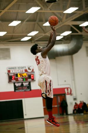 God's Academy vs. Harker Heights-Boys Basketball 11-18-2014