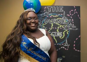 2015 Miss Juneteenth, Quintaya Mathis