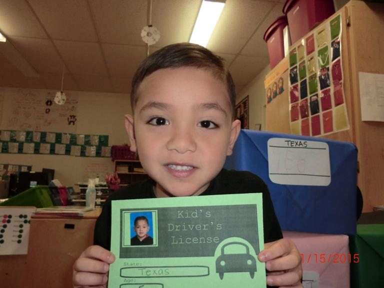 Cove kindergartners receive 'driver's licenses' after passing course
