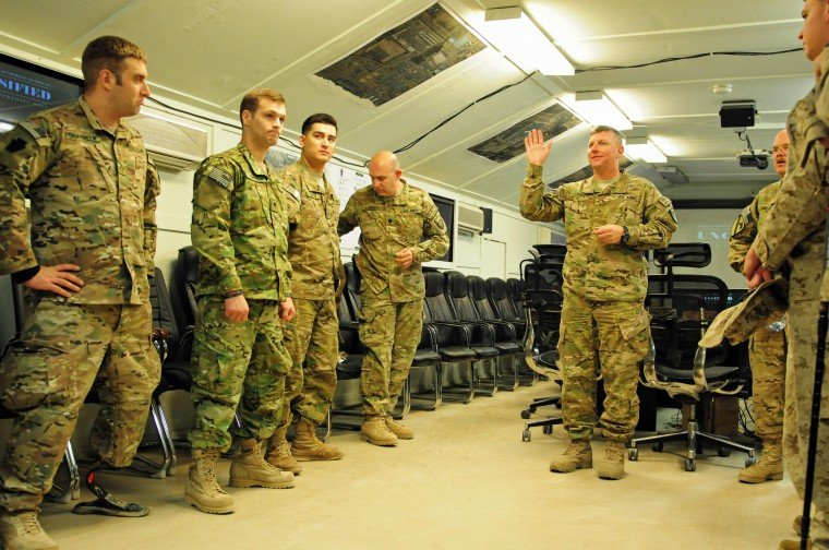 Soldiers return to Afghanistan