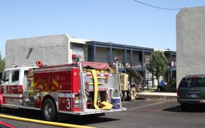 Fire at Terrace Heights
