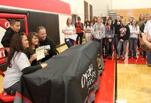 Harker Heights Softball Signing
