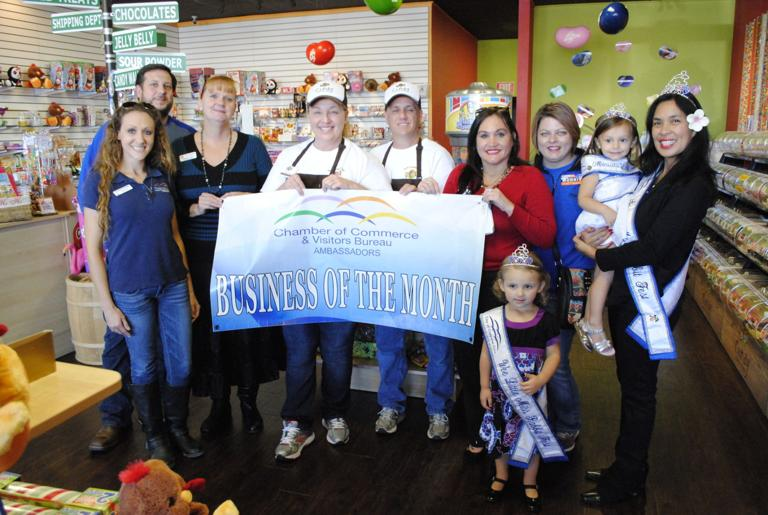 Candy Outfitters chosen as December Business of the Month