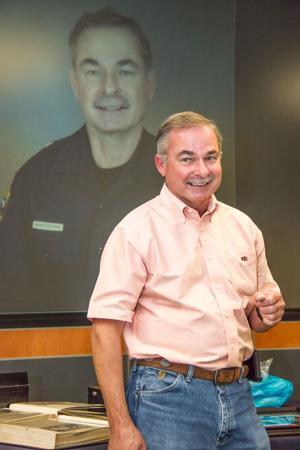 CCPD Deputy Chief Mike Heintzelman retires