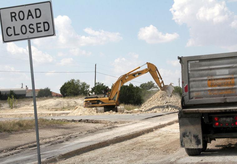 FM 2657 construction