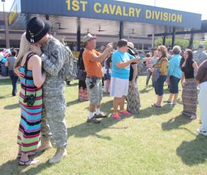 1st Air Cavalry Brigade homecoming