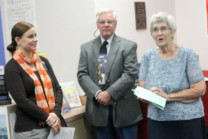 Youngs honored with room dedication at Cove Library