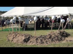 Copperas Cove Scott & White Clinic groundbreaking