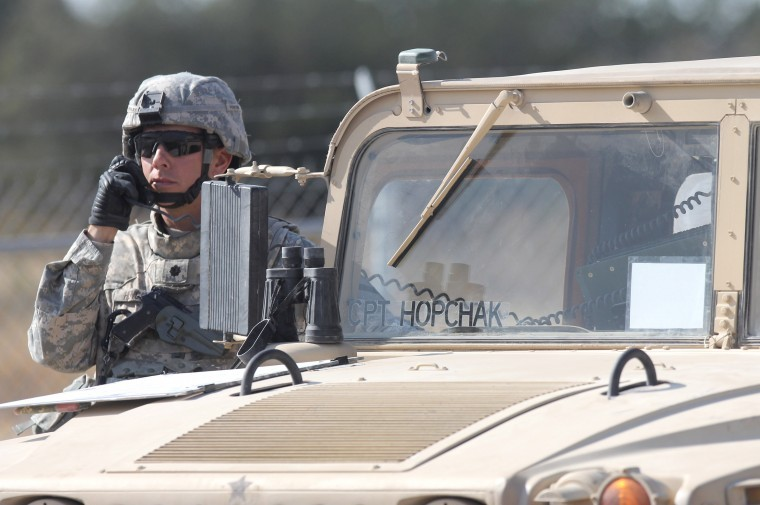 Greywolf Brigade training
