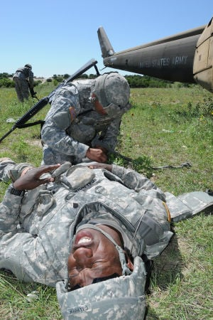 Soldiers compete in Lightning Warrior Week