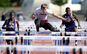 Lometa at track meet