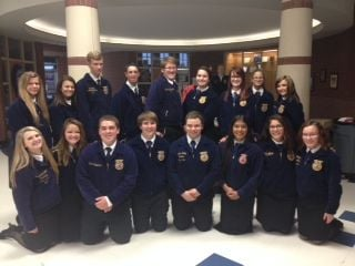 Central Texas FFA Chapters compete for chance to go to state contest