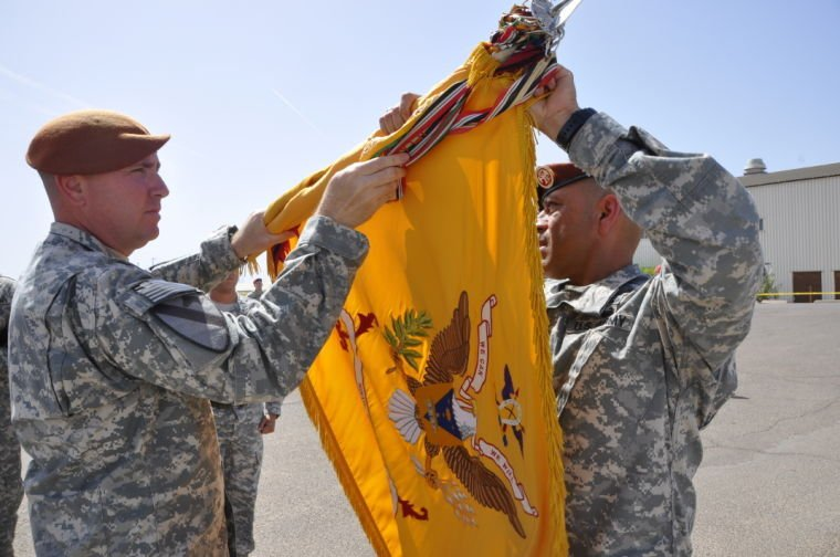Fort Hood's 'Brave Rifles' assume authority in the Sinai Peninsula