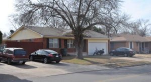 Shooting On Zephyr Road: Police said this house in the 2300 block of Zephyr Road was the site of a shooting where Killeen resident Terry Lee Moon Jr., 32, was killed Sunday, Jan. 5, 2014, after being mistaken as an intruder by a family member. - Photo by Chris McGuinness | Herald