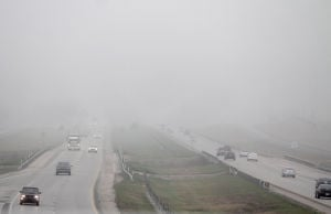 I-35 shut down at Bruceville-Eddy; fog on Hwy. 190