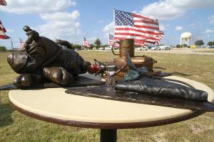Nov. 5 memorial site