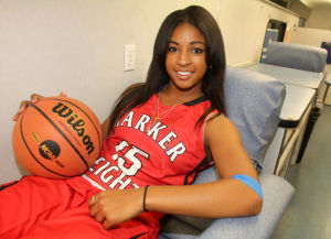 Girls Basketball Preview: Harker Heights' Angela Delaney - Photo by Herald/CATRINA RAWSON