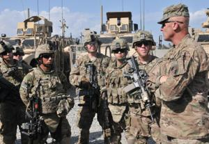 Command Sgt. Maj. Scott Schroeder