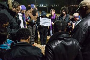 Ferguson vigil