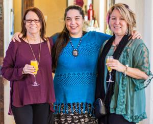 Kathi Herrin, Sonia Colonna-Mathis and Leslie Kell