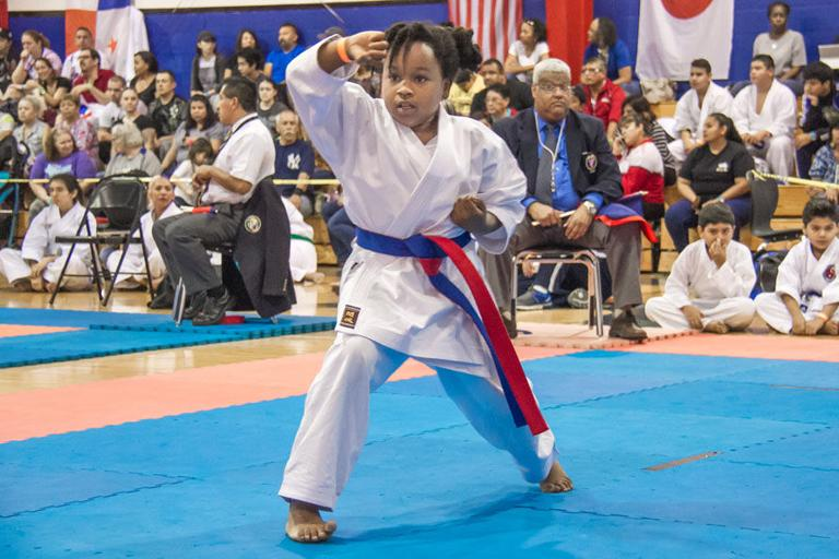 Cove hosts first international karate tournament